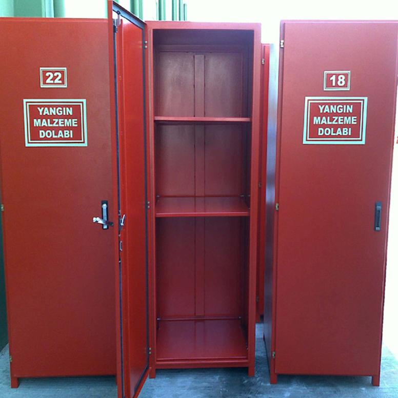 Yangın Güvenlik ve Sivil Savunma Malzeme Dolabı